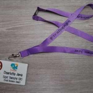 tealfoxdesigns.co.uk - ID Badge and lanyard