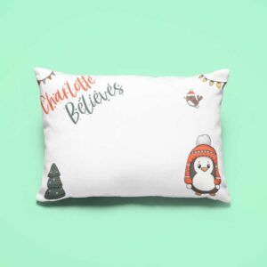 tealfoxdesigns.co.uk - penguin pillowcase