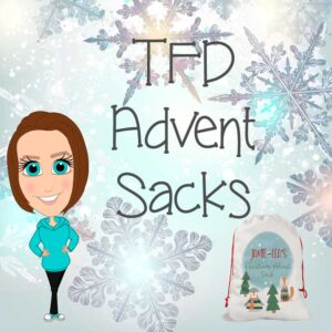 tealfoxdesigns.co.uk - advent sacks